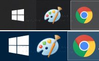 Size Of Icons